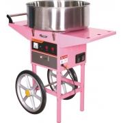 Аппарат для приготовления сахарной ваты Starfood ET-MF-05 с тележкой (диам. 520мм)/ZV