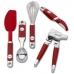 Набор кухонных аксессуаров KitchenAid Silicone Professional Series KM4060ER /135