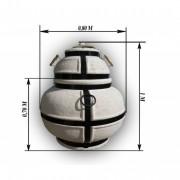 Керамическая печь «Тандыр» Гулливер дровяной H80см /Б