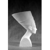 Учебное пособие гипсовая фигура - голова Нефертити с шапкой