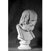 Учебное пособие гипсовая фигура - бюст Архимед